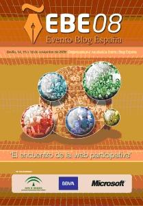 Evento Blog España 2008