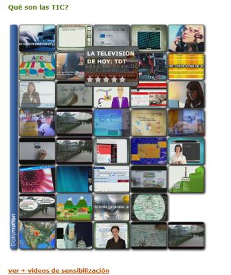 Videos de sensibilización en TIC